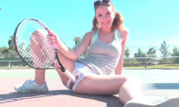 Tennis Playing Teenage - FTV Girls